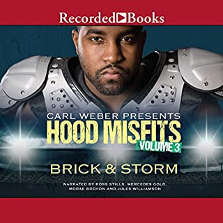 Carl Weber Presents: Hood Misfits, Volume 3 audiobook cover art