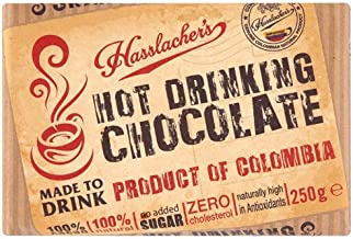 Hasslachers Solid Bar Colombian Drinking Chocolate 250 g