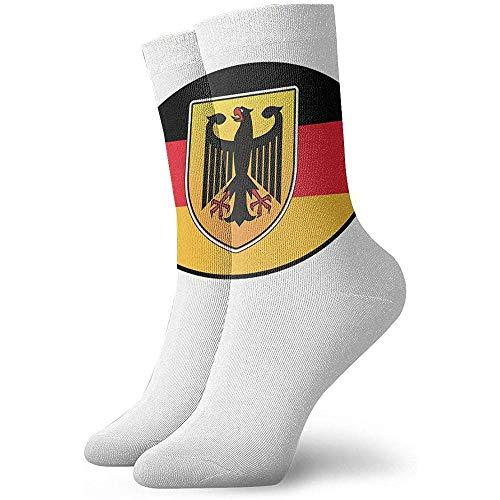 Femme Deutschland Germany Crew Socks Winter Thermal Socks