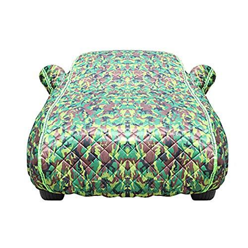 Fundas para Coche Cubierta de coches, compatible con cubierta de automóviles Mercedes-Benz Class S, cubierta de coche súper gruesa de colcha en invierno, Mantenga cálido, congelación, 24/7 Protección
