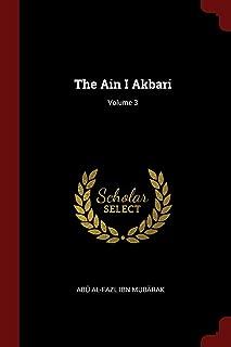 The Ain I Akbari; Volume 3