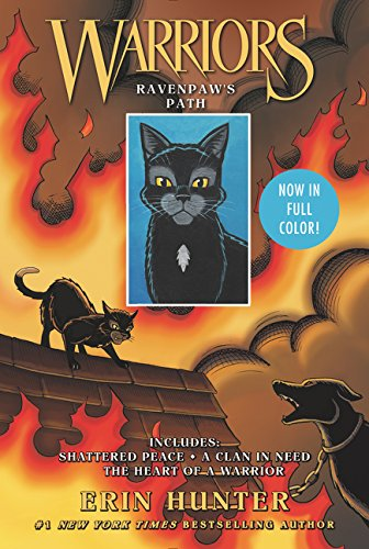Warriors: Ravenpaw's Path: Shattered Peace, A Clan in Need, The Heart of a Warrior (Warriors Graphic