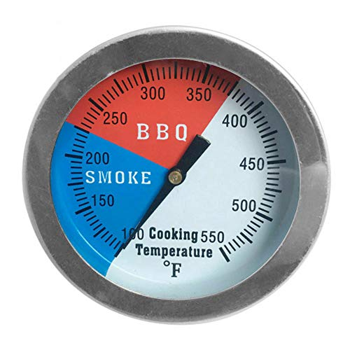 Honelife Temperature Gauge Barbecue BBQ Grill Smoker Pit Thermometer BBQ Tool