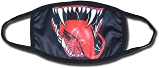 Shancon Cosplay Mouth-Muffle Mask Cotton Dustproof Black Winter Warm Adult Unisex Halloween 2018