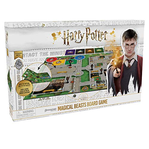 Pressman Harry Potter Animales Fantásticos Juego de Mesa, Multicolor, Talla Única (Goliath Games 108673)