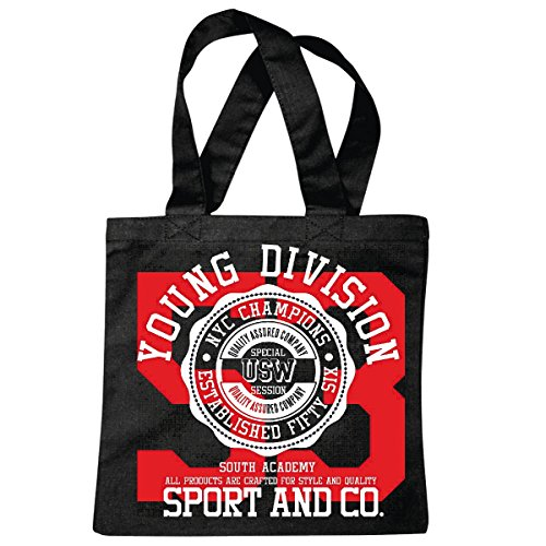 sac à bandoulière DIVISION SPORT YOUNG AND CO ATHLÉTISME COLLEGE SHIRT ÉQUIPE USA AMÉRIQUE LOS ANGELES CALIFORNIA BROOKLYN NEW YORK CITY MANHATTAN RUGBY BASEBALL FOOTBALL FOOTBALL Sac école Turnbeut