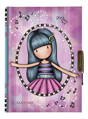 safta M803A Mi Diario Gorjuss Dancing Among The Stars, 128x176x20