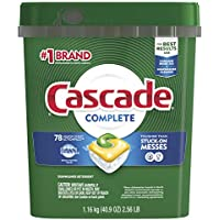 3-Pack X 78-Count Cascade Complete Pods Actionpacs Dishwasher Detergent