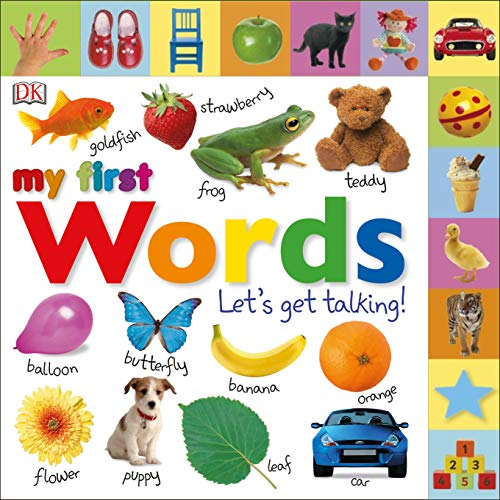 Tabbed Board Books: My First Words: Let's Get Talking! (My First Tabbed Board Book)