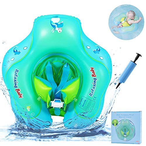 RuoCherg Baby Schwimmring, Baby Schwimmen Ring Aufblasbare Pool Float mit abnehmbaren Höschen, Baby Schwimmhilfen Perfekt Schwimmtrainer für Kinder Von 6-30 Monaten