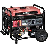 Rainier R4400DF Dual Fuel (Gas and Propane) Portable Generator with Electric Start - 4400 Peak Watts & 3600 Rated Watts - CARB Compliant