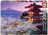 Educa Borras - Genuine Puzzles, Puzzle 2.000 piezas, Monte Fuji, Japón (16775)