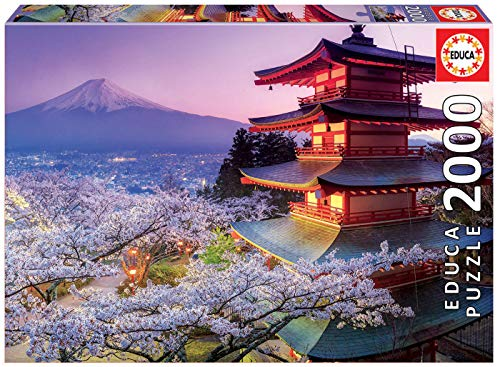 Educa Children's 2000 Mount Fuji Japan Puzzle