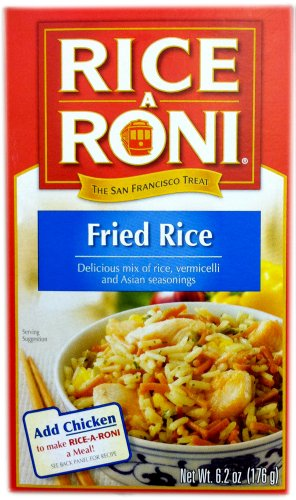 Rice-A-Roni Asian FRIED RICE 6.2oz (5 pack)