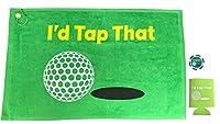 Giggle Golf I'd Tap That Golf Towel
