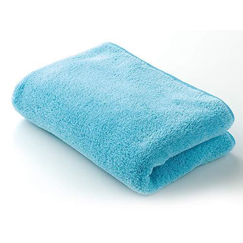 メイダイ(MEIDAI) ムチャクチャ水を吸い取る ふわタオル (ソーダ) 柔らかタオル 極上タオル 吸水 速乾 軽量 レディース ルームウェアータオル