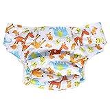 Adultos pañales de tela lavable para cuidado de incontinencia - Apertura el...