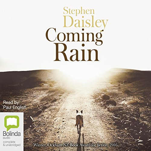 Coming Rain audiobook cover art