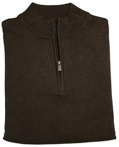 FX 퓨전 1 | 4 ZIP 고체 스웨터