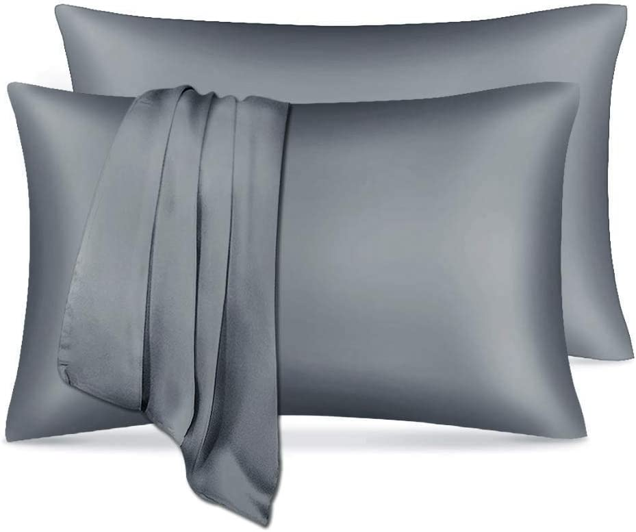 Silky Satin Pillowcase for Hair and Mail order with 2021 spring and summer new Envelope C Closure Skin