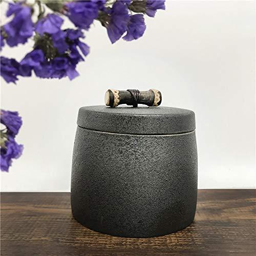 BZZBZZ Urna de Ceniza para Mascotas, Caja de cerámica Hecha a Mano, ataúd para Gatos y Perros y Otras Mascotas, Suministros rituales para Mascotas