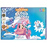 Logic Roots Cloud Hoppers Addition and Subtraction Game - Fun Math Board Game for 5 - 8 Year Olds, Easy to Play Educational Game for Kids at Home, Perfect STEM Toy Gift for Girls & Boys, Grade 1 & Up