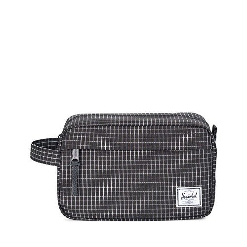 Herschel »Chapter« 5L Kulturtasche Black Grid