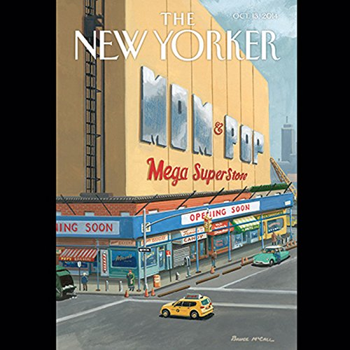 The New Yorker, October 13th 2014 (Peter Hessler, Lauren Hilgers, James Surowiecki) audiobook cover art