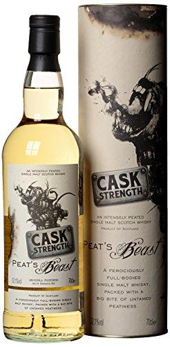 Peat's Beast Cask Strength mit Geschenkverpackung Whisky (1 x 0.7 l)