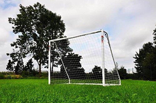 POWERSHOT Porta da Calcio PRO 2,4 x 1,8 m in PVC e con 2 Anni di Garanzia