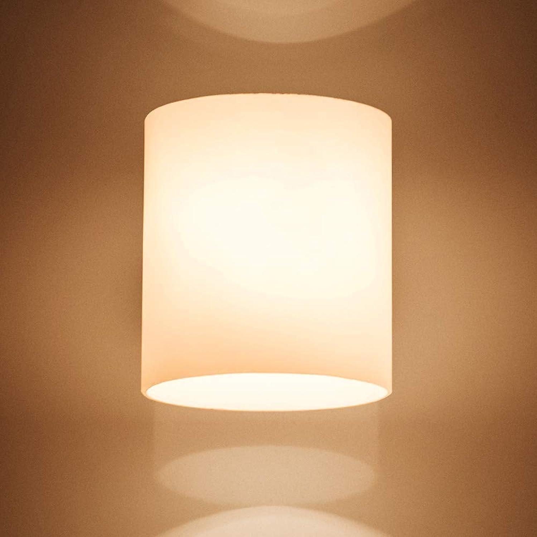 Deckenbeleuchtung Deckenleuchte Pendelleuchten Moderne Minimalistische Schlafzimmer-Nachttischlampen-Wohnzimmer-Gang-Treppen-Glaswand-Beleuchtungs-Laterne
