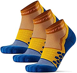 Thirty48 Performance Compression Low Cut Running Socks for Men and Women   More Compression Where Needed