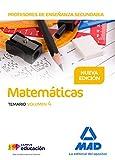 Profesores de Enseñanza Secundaria Matemáticas Temario volumen 4