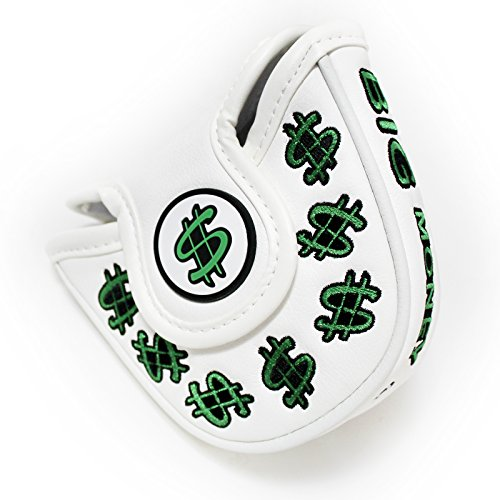 CNC GOLF Cash Money Mallet Putter Cover Headcover for Scotty Cameron Taylormade Odyssey 2ball