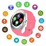 Smart Watch For Android Phones With Calls Notifications Checking Messages Smart Watches Phone With SIM SD Card Slot...
