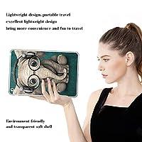 PRINDIY iPad Air 2/iPad Air 保護ケース,アンチダスト 軽量 耐衝撃性 TPUシリコーン 落下に強い クリア 指紋防止 軽量 保護ケース iPad Air 2/iPad Air Case-D 11