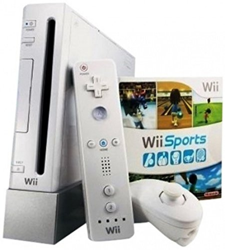Nintendo Wii White Console (NTSC) - RVL-001 - with Gamecube Ports by Nintendo