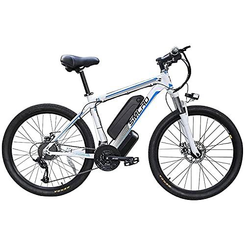 SFSGH Biciclette elettriche per Adulti, Ip54 Impermeabile 350W in Lega di Alluminio Ebike Bicicletta Rimovibile 48V/13Ah Batteria agli ioni di Litio Mountain Bike/Permuta Ebike (Colore:
