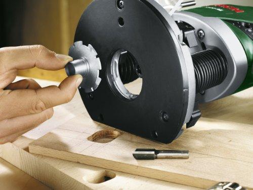 Bosch POF 1200 AE - Fresadora de superficie (1200 vatios, en caja de cartón)