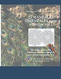 25 MANDALAS ORIENTALES para colorear vol.1: Para distraerse y relajarse coloreando dibujos de Mandalas de estilo oriental combinados entre sí (COLECCIÓN DE LIBROS DE SENSIBILIZACIÓN)