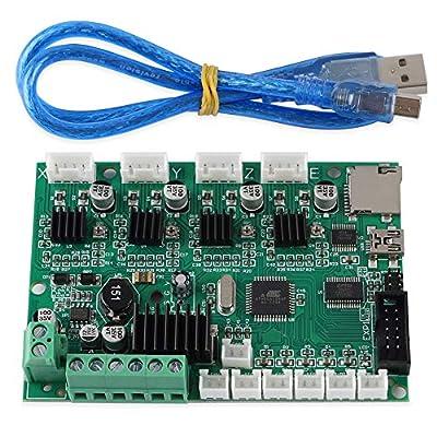 FYSETC 3D Printer Part Motherboard Controller Mainboard V1.1.3 24V Mega 1284P Control Board for Creality Ender 3 Pro Ender-3X