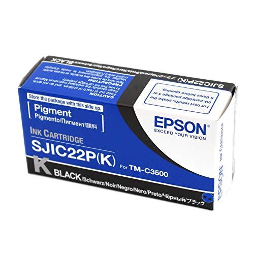 Epson Sjic22P Cartuccia D'Inchiostro Originale, Nero