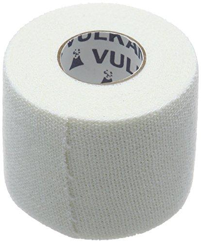 Vulkan Meditex elastische Pflaster-Tape, Starker athletischer Umreifungsband für Joint Support, Comfortable Sport, Rugby und Fußball-Tape für die Stabilisierung und Immobilisation, 5 cm x 4,5 m, Weiß
