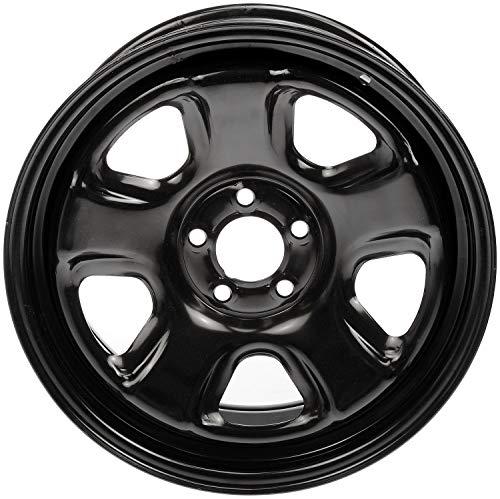 """Dorman 939-166 Steel Wheel for Select Chrysler/Dodge Models (18x7.5""""/5x115mm), Black"""