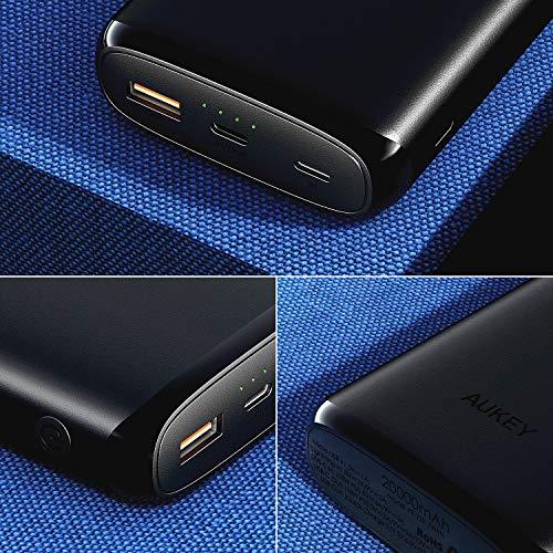 517XIJwyptL-20000mAhモバイルバッテリー「AUKEY PB-Y23」がアマゾンで限定41%オフセール[PR]