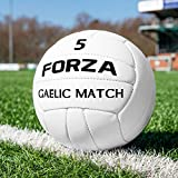 FORZA Gaelic Match Football | Official Size | 100% Hand Stitched (Size 5, Pack of 13)