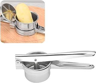 كاسو-- أداة ضاغط بطاطس مشر من الفولاذ المقاوم للصدأ 3 في 1 للاستخدام المنزلي في المطبخ الطبخ