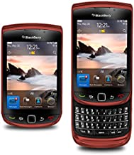 BlackBerry Torch 9800 Unlocked GSM Slider Cell Phone w/Keyboard + Touchscreen and Optical Trackpad - Red