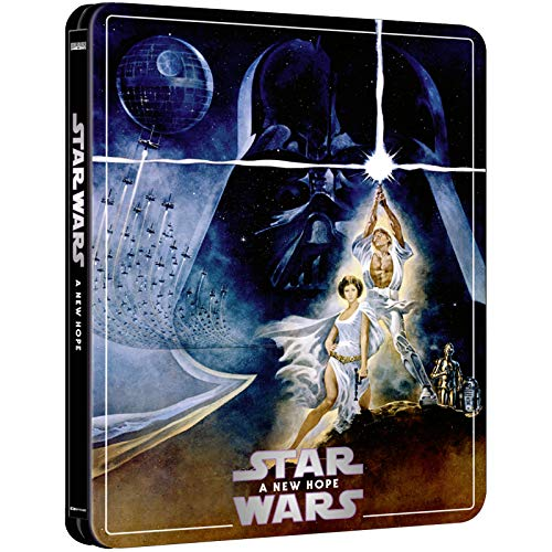STAR WARS 4K ULTRA HD LIMITED EDITION STEELBOOK / REGION FREE / IMPORT / INCLUDES BLU RAY AND BONUS DISC