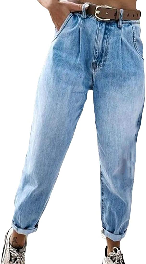 Kljr Women S Relaxed Fit High Waisted Casual Straight Leg Washed Jeans Denim Pants At Amazon Women S Jeans Store Find more designer clothes & accessories at armaniexchange.com. kljr women s relaxed fit high waisted